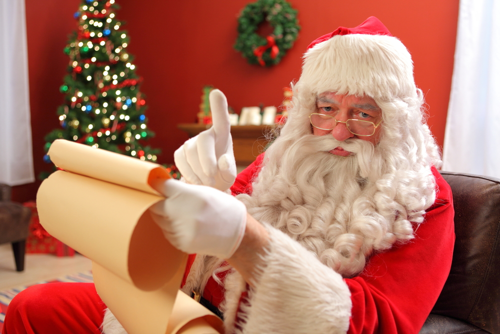 naught santa pictures santa s naughty and nice supply chain list all things 6503